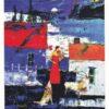 山浦多久二 油彩展「絵と音楽のフュージョン」 : ムッチャンの絵手紙日記